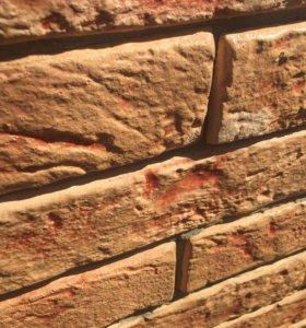 Декоративная плитка (камень) под кирпич