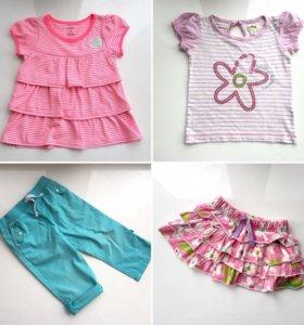 Одежда Carter's. Летняя, на девочку 2-3 года
