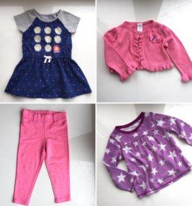 Одежда пакетом, на девочку 2 года. Фирменные вещи