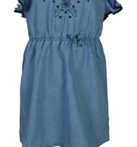 Джинсовое платье на девочку