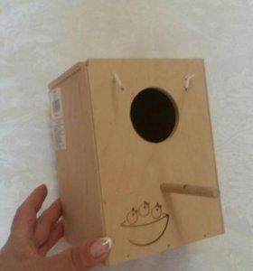 Домик-гнездо для птиц
