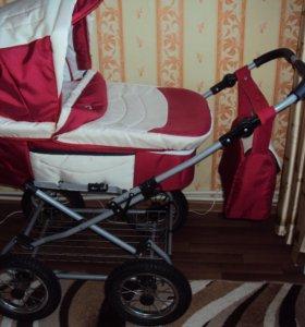 коляска польская BART_PLAST комбинированная