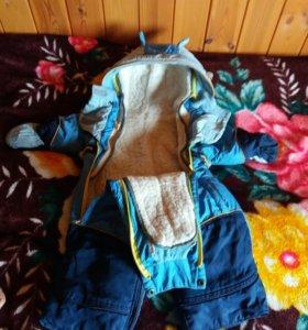 Комбинезон для мальчика с рождения до двух лет