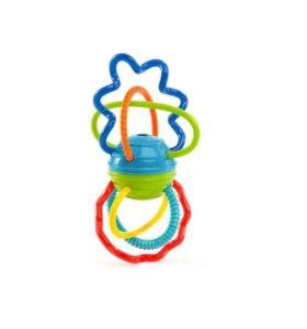 Игрушка развивающая Oball Разноцветная гантелька
