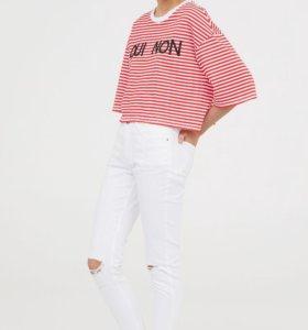 H&M джинсы новые абсолютно на 34 размер