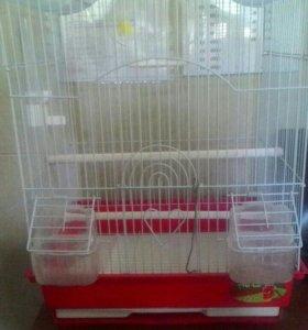 Клетка для птиц .(35*28*45)