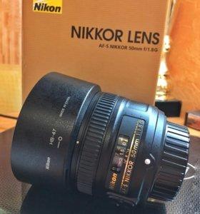 Nikkor Lens, AF-S Nikkor 50mm f/1.8 G