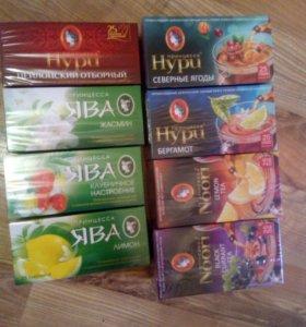 Чай нури и ява
