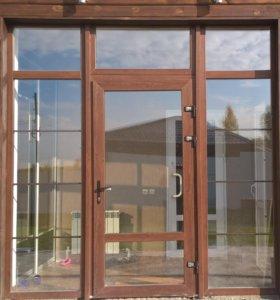 Пластиковые окна, двери, лоджии.