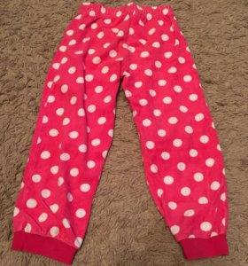 Тёплые пижамные штаны