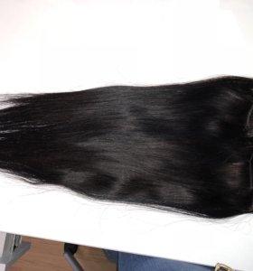 Волосы на заколках натуральные