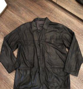 Кожаная куртка демисезон