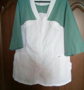 Женский Медицинский костюм(собран из 2х разных)