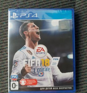 Игра для PS4 FIFA 18