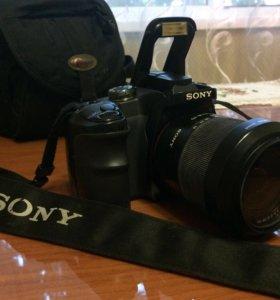 Зеркальный фотоаппарат Sony Alpha DSLR-A100