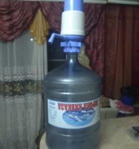 Кулер для воды новый удобный
