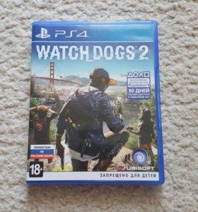 Игра на PS4,Watch dogs 2