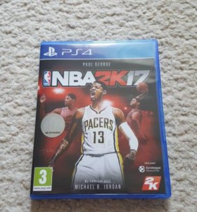 Игра на PS4,NBA 2017