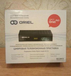ТВ приставка Ресивер цифровой Oriel 963