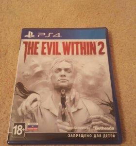 Игра на PS4,The Evil Within 2