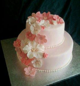 Свадебные торты, прянички, бонбоньерки
