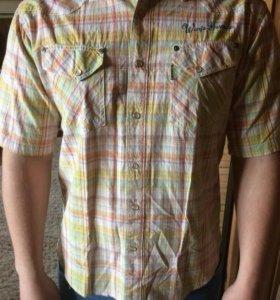 Рубашка мужская (короткие рукава)