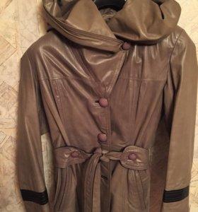 Новая кожаная куртка Турция