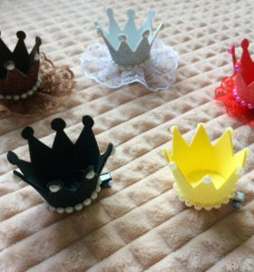 Заколки короны