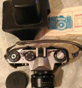 Фотоаппарат Zenit с оптикой Гелиос-44-2