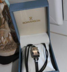 Часы Romanson женские на кожаном ремешке
