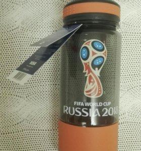Бутылка для воды FIFA WORLD CUP RUSSIA 2018, новая