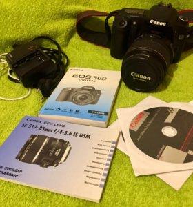 Зеркальный фотоаппарат Canon EOS 30D
