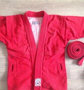 Куртка для САМБО, размер 38