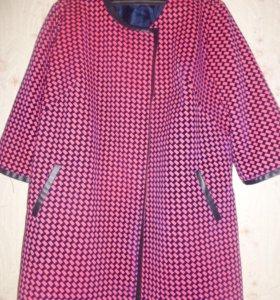 легкое пальто на подкладке