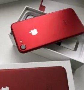 iPhone 7 красный