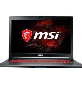 Ноутбук игровой MSI GV72 7RD-1068RU