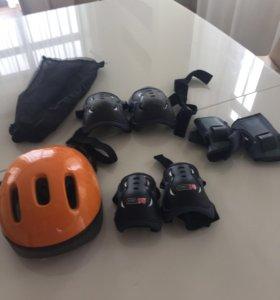 Защита для роликов+ шлем
