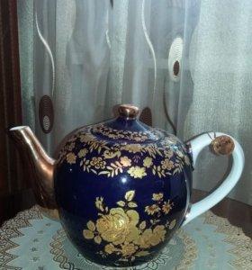 Чайник керамический новый