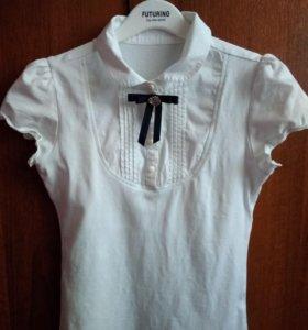 Блузки на девочку 8-9 лет.