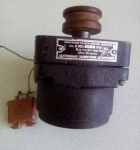 Двигатель синхрон. конденсат. с редуктором Д-960