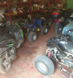Ремонт мототехники (квадроцикл,мотоцикл,скутер..