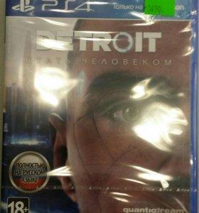 DETROIT ,GTA V ,VAMPYR, UFC 3 и другие игры на PS4