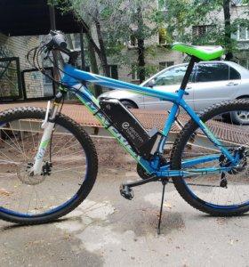 Электро велосипед 1.2kW 15Ah