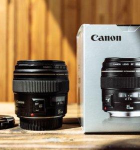 Canon EF 85 мм f 1.8