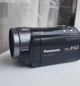 Panasonic full HD с 3D объективом