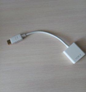 Переходник VGA/DisplayPort