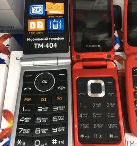 Мобильные телефоны Texet