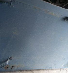 Дверь +рамка железа