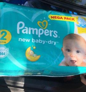 Pampers новая упаковка закрытая