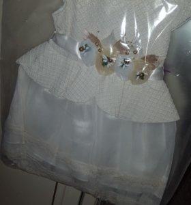 Платье с ободочком
